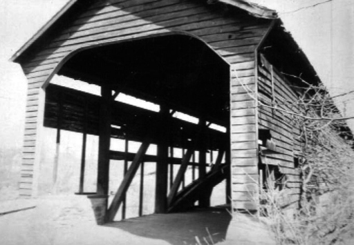Parks Rolling Mill Covered Bridge 1941.