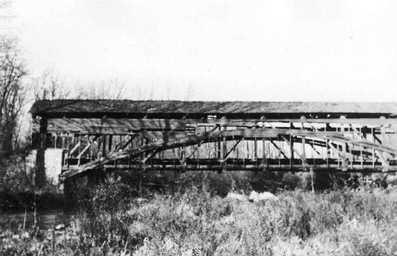 Parks Rolling Mill Covered Bridge 1948.