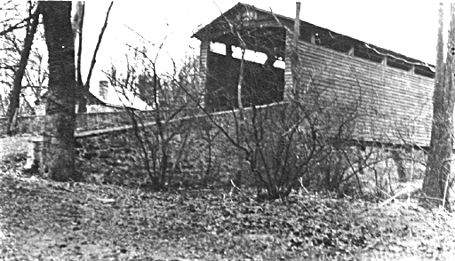 Wilson's Mill Covered Bridge around 1920